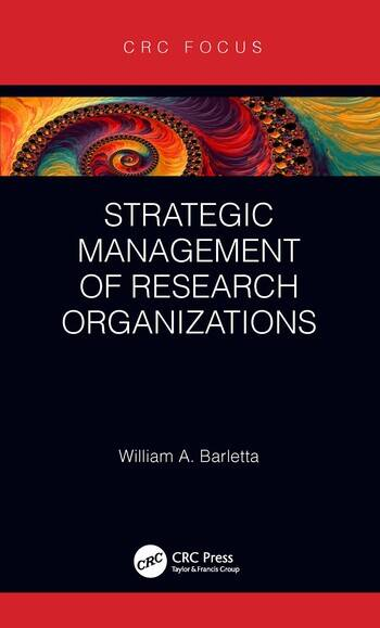 Strategic Management of Research Organizations book cover