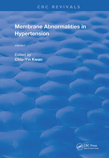 Membrane Abnormalities In Hypertension book cover