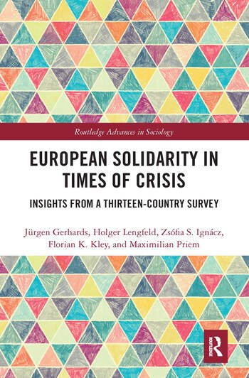 European Solidarity in Times of Crisis Insights from a Thirteen-Country Survey book cover