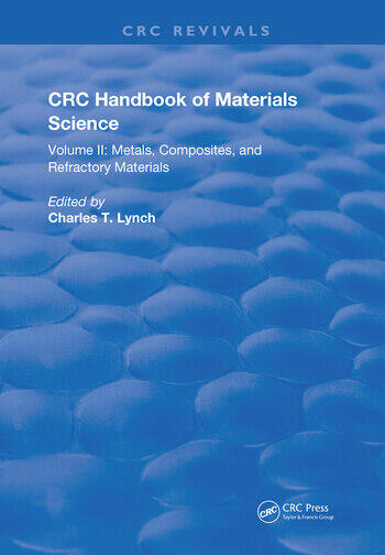 CRC Handbook of Materials Science Material Composites and Refractory Materials book cover