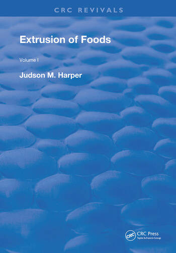 Extrusion Of Foods book cover