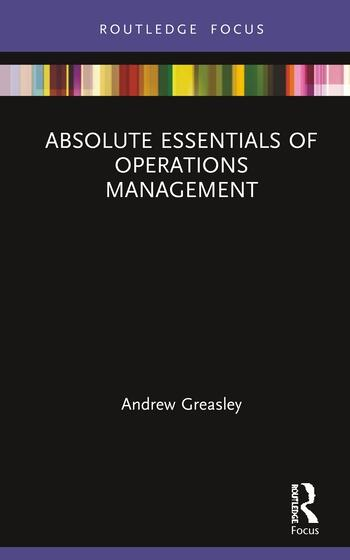 Absolute Essentials of Operations Management book cover