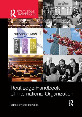 Routledge Handbook of International Organization book cover