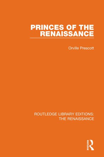 Princes of the Renaissance book cover
