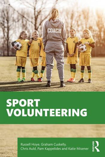 Sport Volunteering book cover