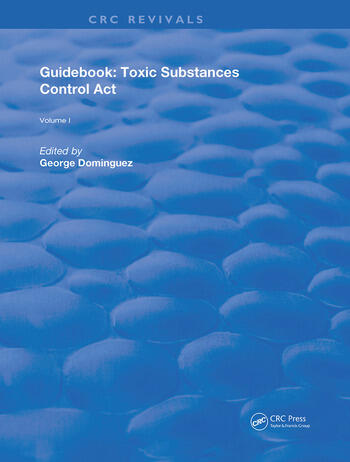 Guidebook Toxic Substances Control Act book cover