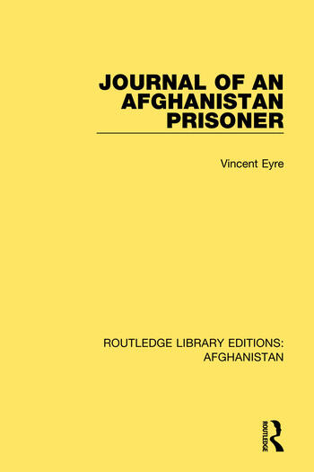 Journal of an Afghanistan Prisoner book cover