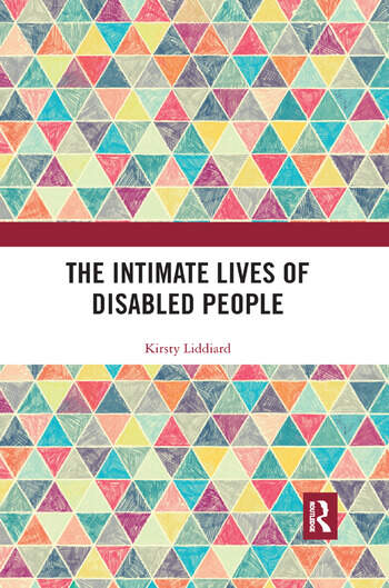 The Intimate Lives of Disabled People book cover