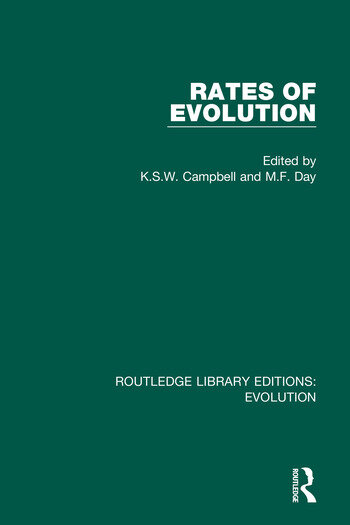 Rates of Evolution book cover