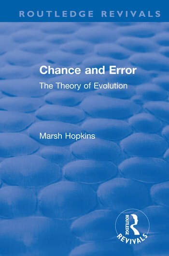 Chance and Error The Theory of Evolution book cover
