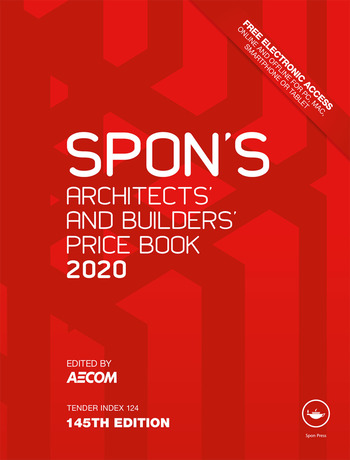 Spon's Architects' and Builders' Price Book 2020 book cover