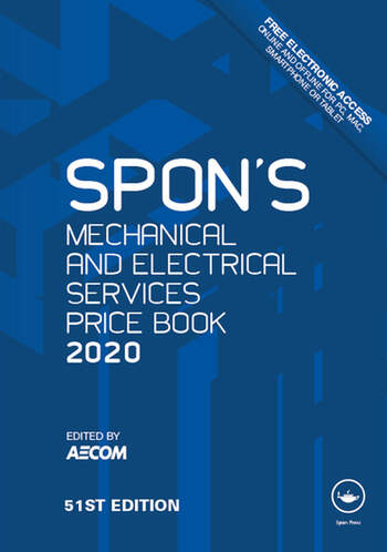 Spon's Mechanical and Electrical Services Price Book 2020 book cover