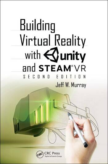 Building Virtual Reality with Unity and SteamVR book cover