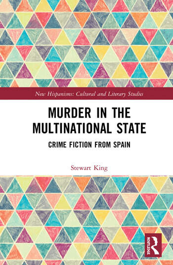 Murder in the Multinational State Crime Fiction from Spain book cover