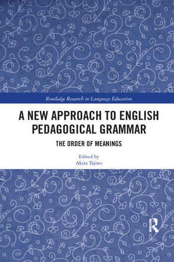 A New Approach to English Pedagogical Grammar The Order of Meanings book cover