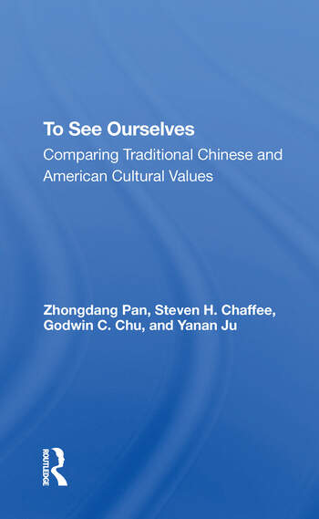 To See Ourselves Comparing Traditional Chinese And American Values book cover