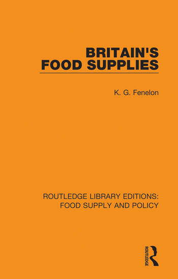 Britain's Food Supplies book cover