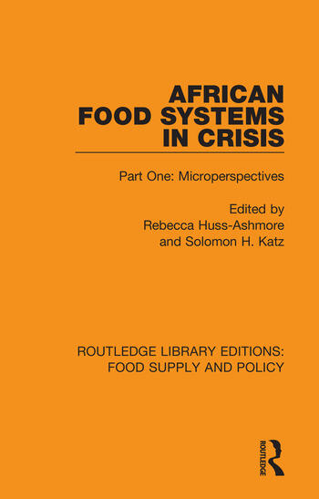 African Food Systems in Crisis Part One: Microperspectives book cover