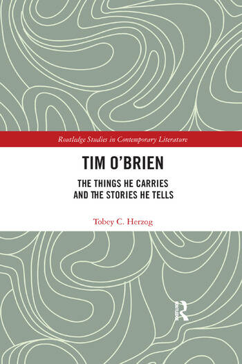 Tim O'Brien The Things He Carries and the Stories He Tells book cover