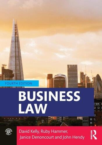 Business Law book cover