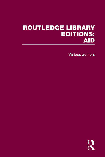 Routledge Library Editions: Aid book cover