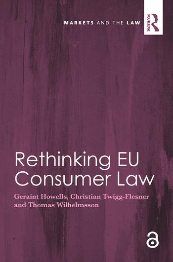 Rethinking EU Consumer Law book cover