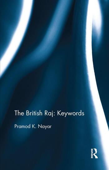 The British Raj: Keywords book cover