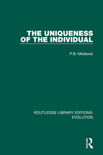 The Uniqueness of the Individual book cover