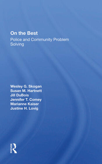 On The Beat Police And Community Problem Solving book cover