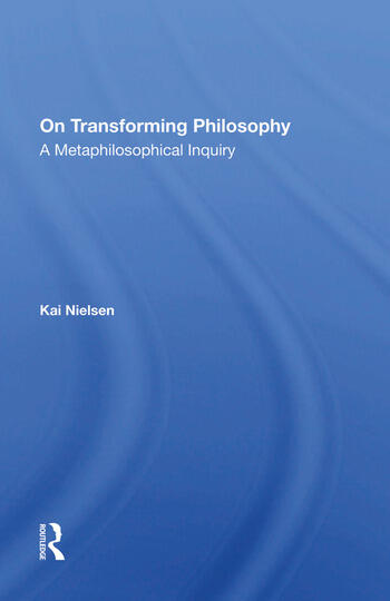 On Transforming Philosophy A Metaphilosophical Inquiry book cover