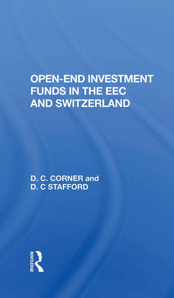 Openend Investment Fund book cover
