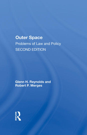 Outer Space Problems Of Law And Policy book cover