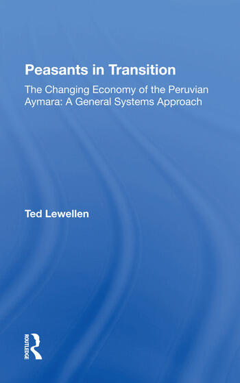 Peasants In Transition/h book cover