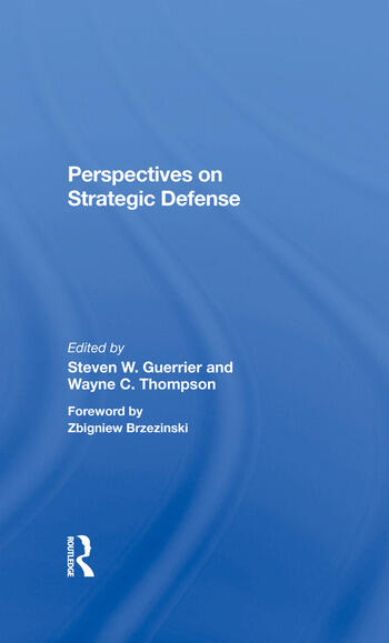 Perspectives On Strategic Defense book cover