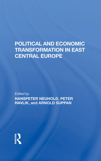 Political And Economic Transformation In East Central Europe book cover