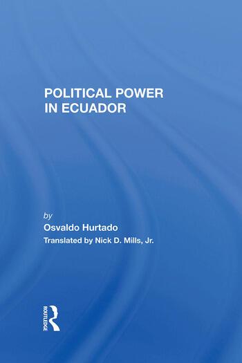 Political Power In Ecuador book cover