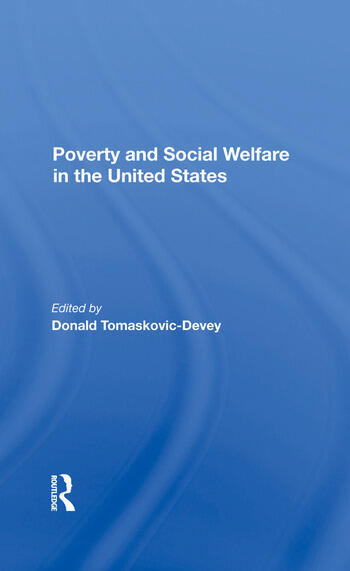 Poverty And Social Welfare In The United States book cover