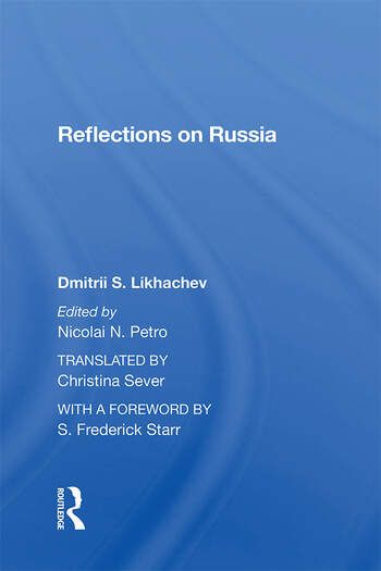 Reflections On Russia book cover
