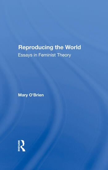 Reproducing The World Essays In Feminist Theory book cover