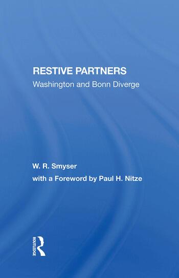 Restive Partners Washington And Bonn Diverge book cover