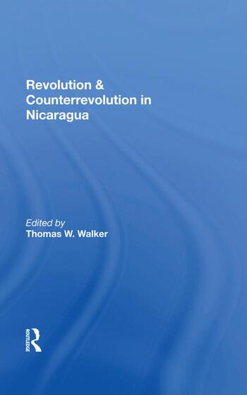 Revolution And Counterrevolution In Nicaragua book cover