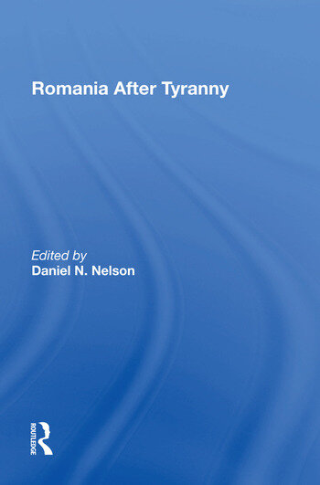 Romania After Tyranny book cover