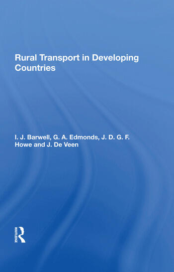 Rural Transport In Developing Countries book cover