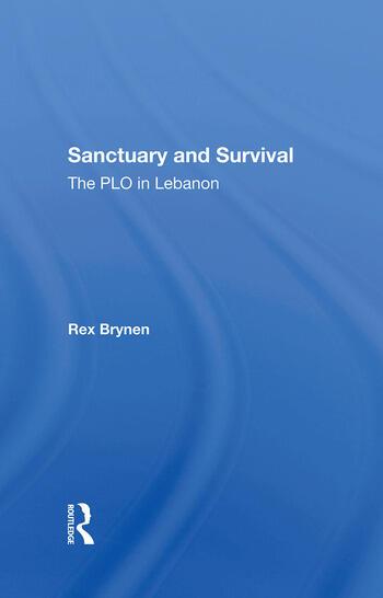 Sanctuary And Survival The Plo In Lebanon book cover