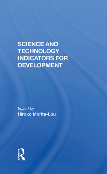 Science And Technology Indicators For Development book cover