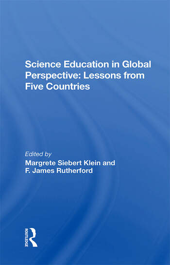 Science Education In Global Perspective Lessons From Five Countries book cover