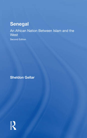 Senegal An African Nation Between Islam And The West, Second Edition book cover