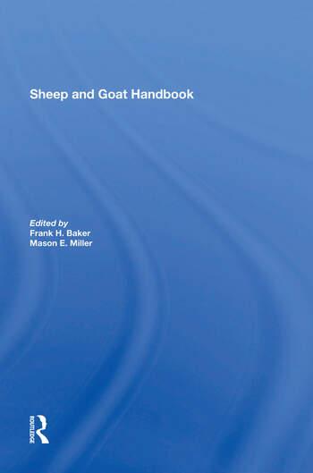 Sheep And Goat Handbook, Vol. 4 book cover