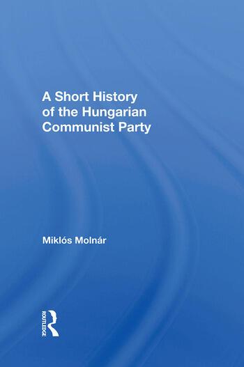 Short Hist Hungarian Com/h book cover