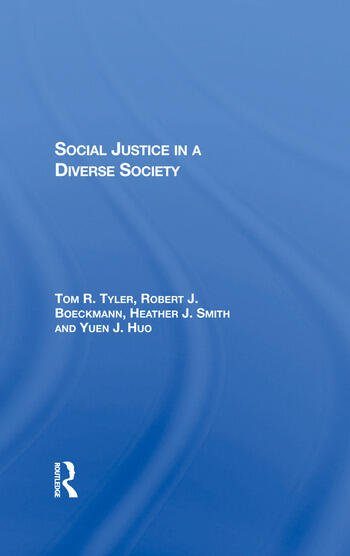 Social Justice In A Diverse Society book cover